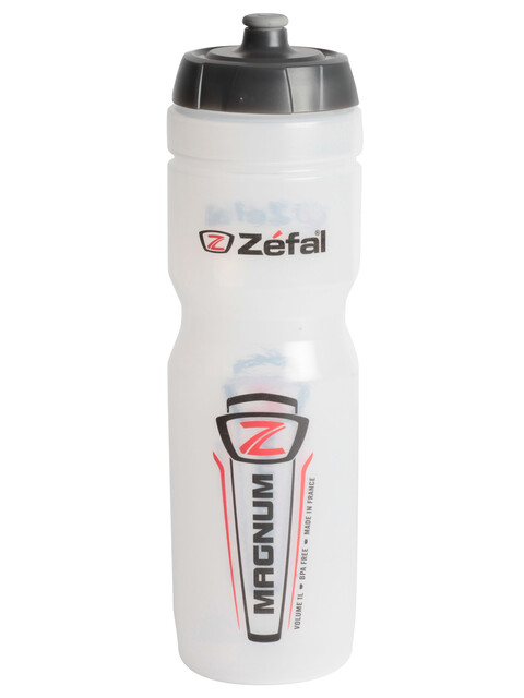 Zefal Magnum Trinkflasche 1000ml transparent
